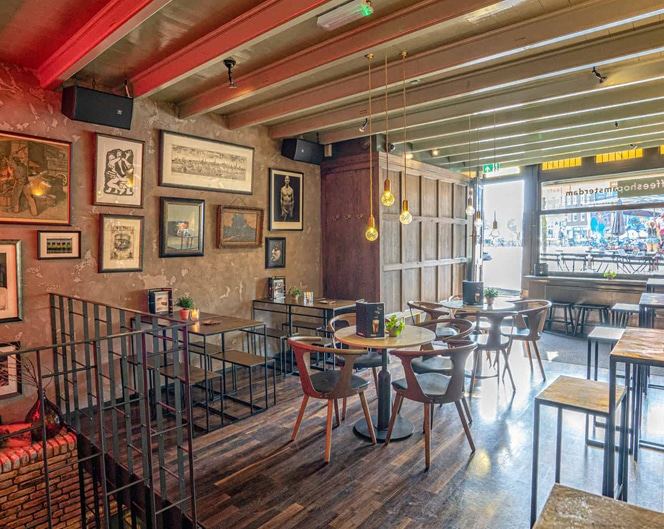 Coffeeshopamsterdam Cafe Cosy Interior Photography by Paul James