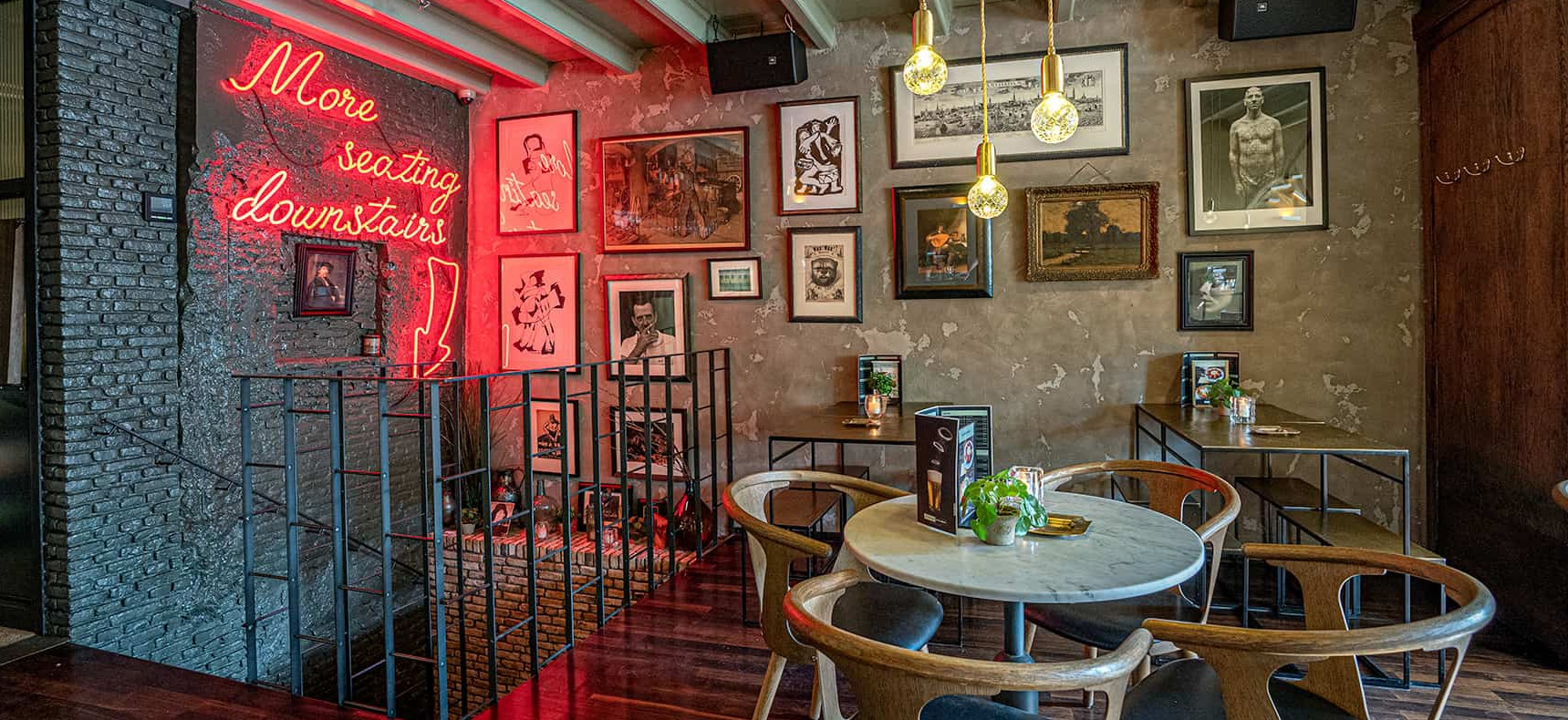 Coffeeshopamsterdam Cafe Interior Photography by Paul James