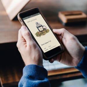 Mobile Friendly Online E Commerce Tea Stop Arte and Zayne