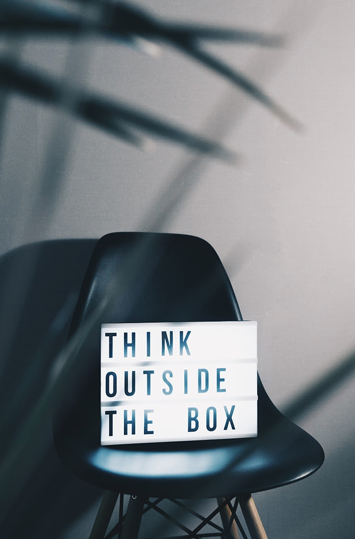 Out of the box thinking is just another of the services from Creative Digital Media